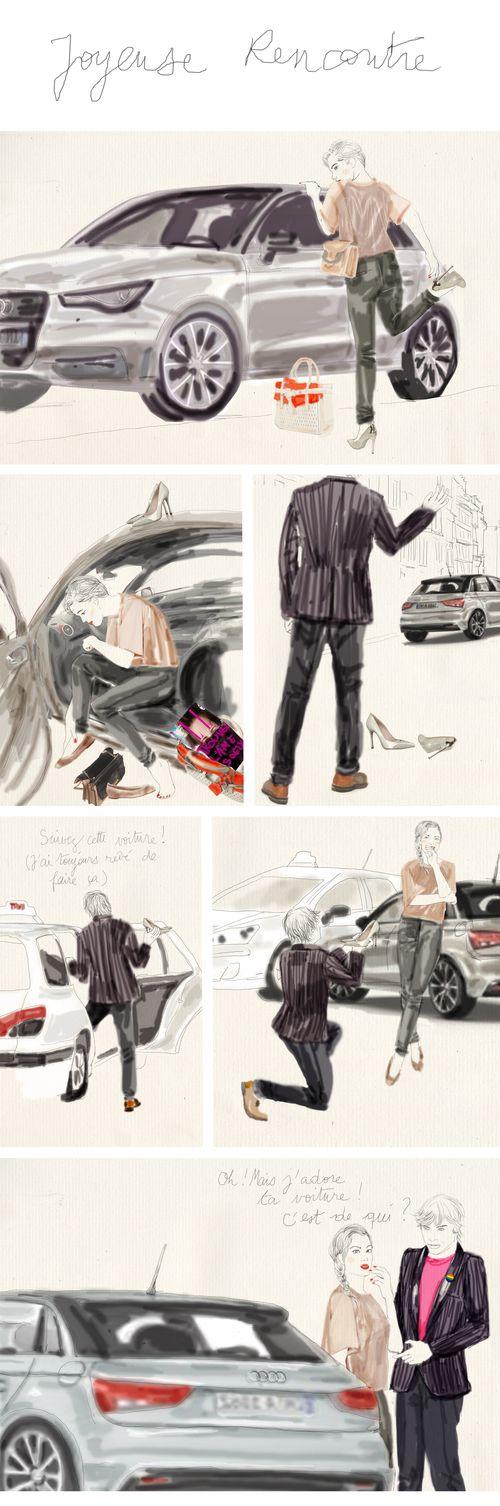 Audi joyeuse rencontre1